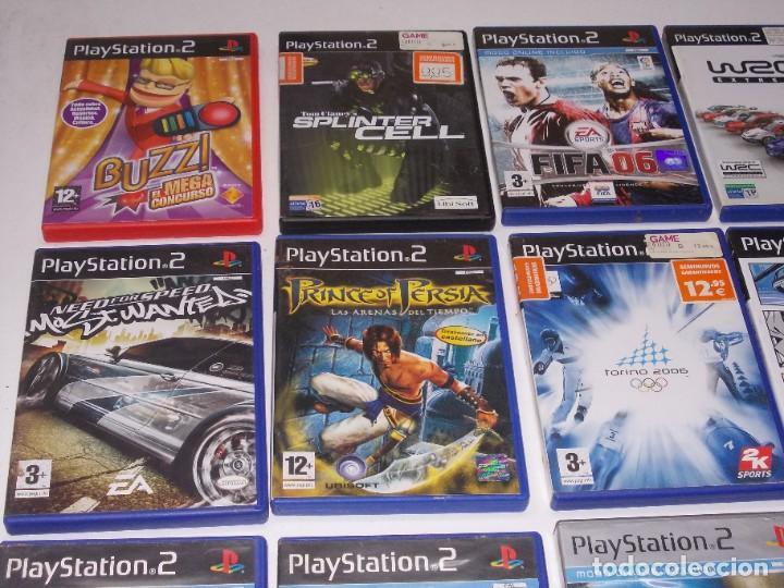 Videojuegos y Consolas: Lote PS2 con 17 juegos, tal cual encontrado y según fotos, todo sin probar. La consola enciende - Foto 18 - 268608954