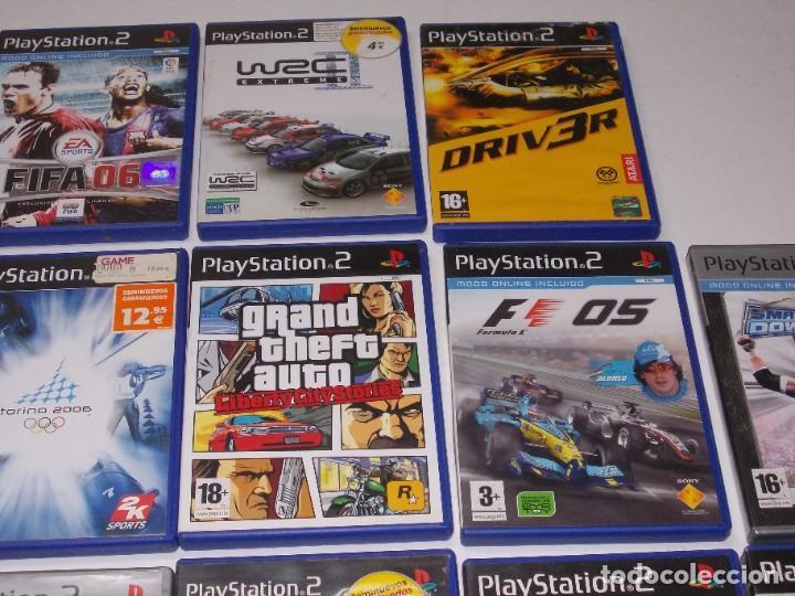 Videojuegos y Consolas: Lote PS2 con 17 juegos, tal cual encontrado y según fotos, todo sin probar. La consola enciende - Foto 19 - 268608954