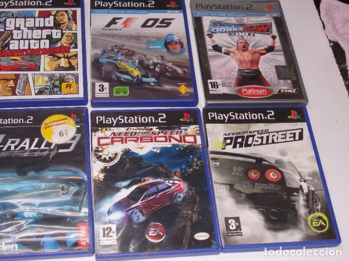 Videojuegos y Consolas: Lote PS2 con 17 juegos, tal cual encontrado y según fotos, todo sin probar. La consola enciende - Foto 20 - 268608954