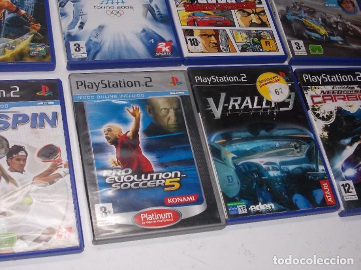 Videojuegos y Consolas: Lote PS2 con 17 juegos, tal cual encontrado y según fotos, todo sin probar. La consola enciende - Foto 21 - 268608954