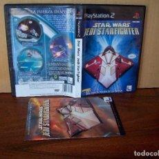 Videojuegos y Consolas: STAR WARS JEDI STARFIGHTER - JUEGO COMPLETO PLAYSTATION 2. Lote 268609484