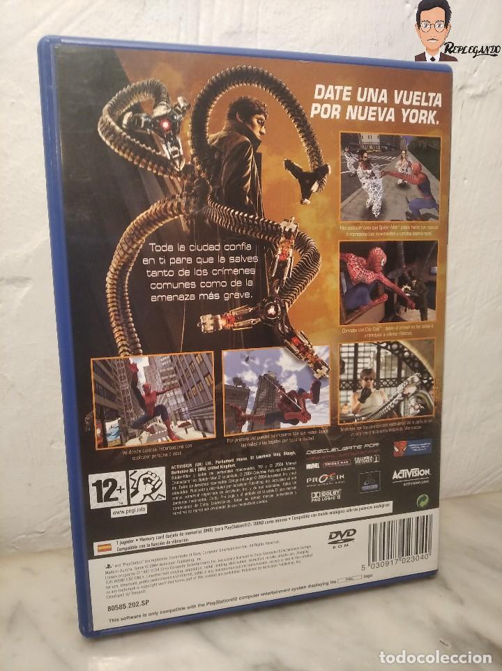 Videojuegos y Consolas: SPIDER-MAN 2 - JUEGO PLAYSTATION 2 (ACTIVISION) PLAY 2 (PAL) CONSOLA - VIDEOCONSOLA - SPIDER MAN - Foto 2 - 268609519