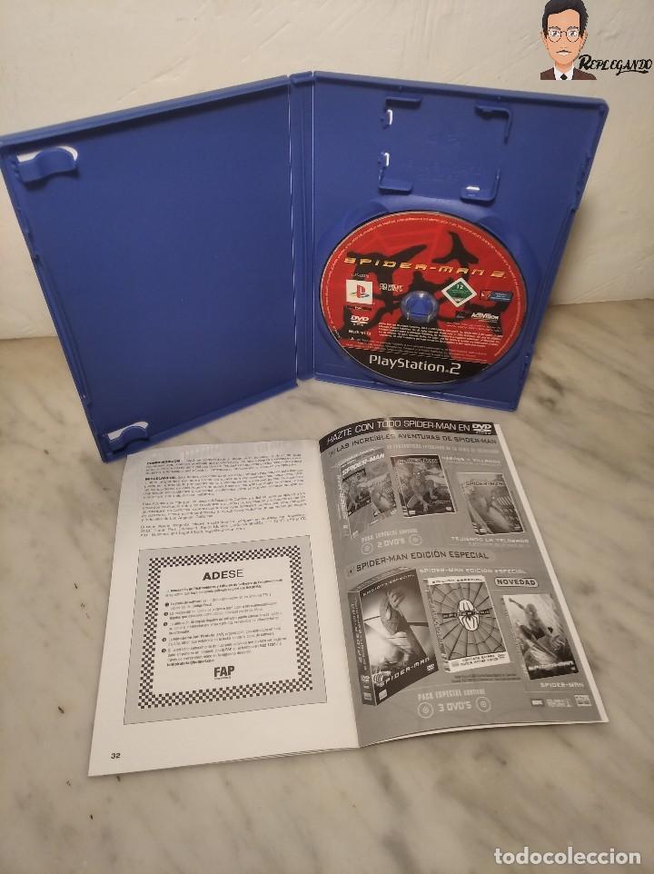 Videojuegos y Consolas: SPIDER-MAN 2 - JUEGO PLAYSTATION 2 (ACTIVISION) PLAY 2 (PAL) CONSOLA - VIDEOCONSOLA - SPIDER MAN - Foto 5 - 268609519