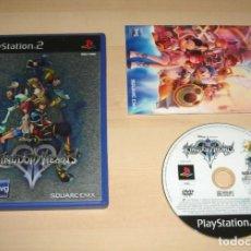 Videojuegos y Consolas: KINGDOM HEARTS II PARA SONY PLAYSTATION 2 / PS2, PAL. Lote 268617214