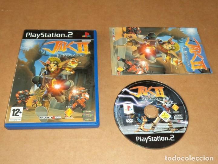 JAK II : EL RENEGADO PARA SONY PLAYSTATION 2 / PS2, PAL (Juguetes - Videojuegos y Consolas - Sony - PS2)