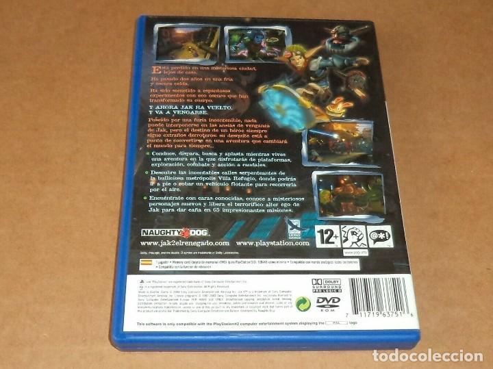 Videojuegos y Consolas: JAK II : El Renegado para Sony Playstation 2 / PS2, Pal - Foto 2 - 268617254