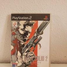 Videojuegos y Consolas: METAL GEAR SOLID 2 PLAYSTATION 2 PS2. Lote 268761719