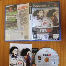Videojuegos y Consolas: FIFA 08. PS2 EA SPORTS FUTBOL LFP PLAYSTATION 2. Lote 268795764
