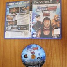 Videojuegos y Consolas: WWE SMACK DOWN VS RAW 2008. PS2 THQ PLAYSTATION 2. Lote 268795789