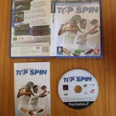 Videojuegos y Consolas: TOP SPIN. PS2 2K SPORTS TENIS TENNIS PLAYSTATION 2. Lote 268795804