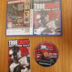 Videojuegos y Consolas: TRUE CRIME NEW YORK CITY. PS2 ACTIVISION PLAYSTATION 2. Lote 268795824