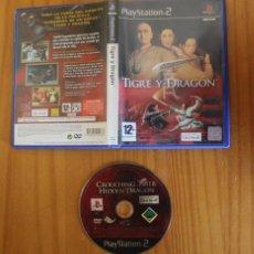 Videojuegos y Consolas: TIGRE Y DRAGON. PS2 UBI SOFT PLAYSTATION 2. Lote 268795834