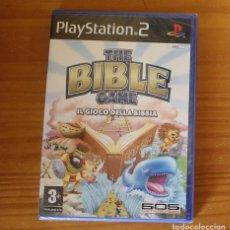 Videojuegos y Consolas: THE BIBLE GAME IL GIOCO DELLA BIBBIA. PS2 NUEVO PRECINTADO 505 GAMES PLAYSTATION 2. Lote 268795849