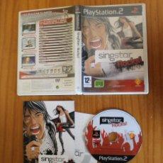 Videojuegos y Consolas: SINGSTAR ROCKS. PS2 HEROES DEL SILENCIO, AMARAL, MAGO DE OZ, LOQUILLO... PLAYSTATION 2. Lote 268795869