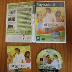 Videojuegos y Consolas: SINGSTAR POP. PS2 HEROES DEL SILENCIO, LOQUILLO, MELENDI, DAVID BISBAL... PLAYSTATION 2. Lote 268795889