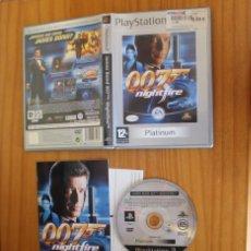 Videojuegos y Consolas: JAMES BOND 007 NIGHTFIRE. PS2 EA GAMES PLAYSTATION 2. Lote 268795904