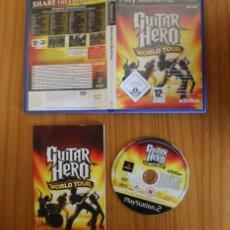 Videojuegos y Consolas: GUITAR HERO WORLD TOUR. PS2 ACTIVISION BON JOVI, FOO FIGHTERS...PLAYSTATION 2. Lote 268795924