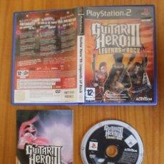 Videojuegos y Consolas: GUITAR HERO III LEGENDS OF ROCK. PS2 ACTIVISION PLAYSTATION 2. Lote 268795939