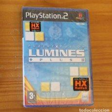 Videojuegos y Consolas: LUMINES PLUS PUZZLE FUSION. PS2 NUEVO PRECINTADO PLAYSTATION 2. Lote 268796029