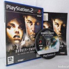 Videojuegos y Consolas: PLAYSTATION 2 BROKEN SWORD. Lote 268899469