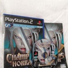 Videojuegos y Consolas: PLAYSTATION 2 CHAMPIONS OF NORRATH. Lote 268901009