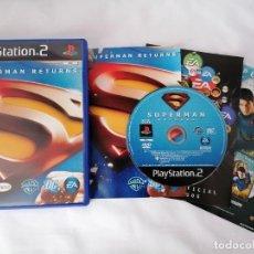 Videojuegos y Consolas: PLAYSTATION 2 SUPERMAN RETURNS. Lote 268901134