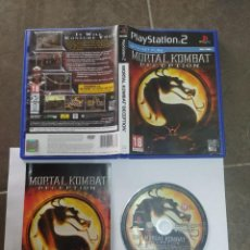 Videojuegos y Consolas: MORTAL KOMBAT DECEPTION PS2 PLAYSTATION 2 COMPLETO PAL-UK. Lote 268923539