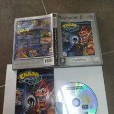 Videojuegos y Consolas: CRASH BANDICOOT LA VENGANZA DE CORTEX PS2 PLAYSTATION 2 COMPLETO PAL-ESPAÑA. Lote 268923679