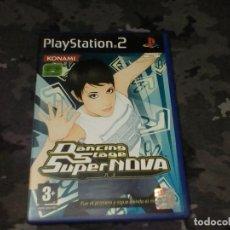 Videojuegos y Consolas: DANCING STAGE SUPERNOVA - PLAYSTATION 2 PS2 - PAL ESPAÑA. Lote 268930044