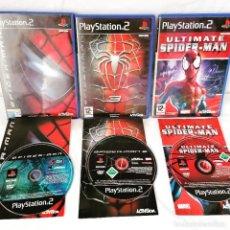 Videojuegos y Consolas: PACK PLAYSTATION 2 SPIDERMAN. Lote 268950294