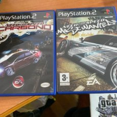 Videojuegos y Consolas: JUEGO PLAY STATION 2 PS2 NEED FOR SPEED CARBONO + MOST WANTED (DVDI2). Lote 269045263