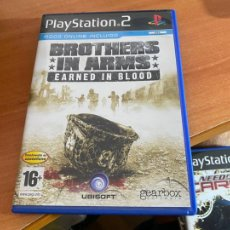 Videojuegos y Consolas: JUEGO PLAY STATION 2 PS2 BROTHERS IN ARMS EARNED IN BLOOD (DVDI2). Lote 269045498