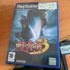 Videojuegos y Consolas: JUEGO PLAY STATION 2 PS2 ONIMUSHA 3 (DVDI2). Lote 269045863
