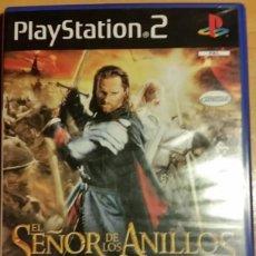 """Jeux Vidéo et Consoles: SONY PLAY STATION 2 """"EL SEÑOR DE LOS ANILLOS: EL RETORNO DEL REY"""". Lote 269251843"""