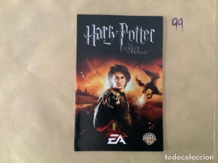 H1. MANUAL PS2 HARRY POTTER EL CÁLIZ DEL FUEGO (Juguetes - Videojuegos y Consolas - Sony - PS2)