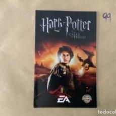 Videojuegos y Consolas: H1. MANUAL PS2 HARRY POTTER EL CÁLIZ DEL FUEGO. Lote 269404918