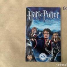 Videojuegos y Consolas: H1. MANUAL PS2 HARRY POTTER EL PRISIONERO DE AZKABAN. Lote 269404983