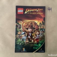 Videojuegos y Consolas: H1. MANUAL PS2 LEGO INDIANA JONES LA TRILOGÍA. Lote 269409198