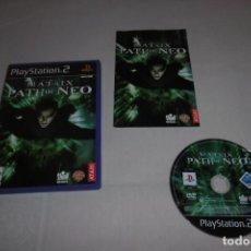Videojuegos y Consolas: PS2 SONY PLAYSTATION 2 MATRIX PATH OF NEO. Lote 269457423