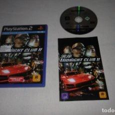 Videojuegos y Consolas: PS2 PLAYSTATION 2 MIDNIGHT CLUB II. Lote 269458213