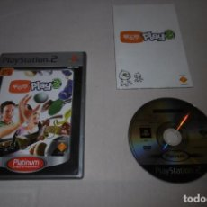 Videojuegos y Consolas: PS2 SONY PLAYSTATION 2 EYE TOY 2 COMPLETO. Lote 269461388