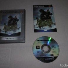 Videojuegos y Consolas: PS2 SONY PLAYSTATION 2 MEDAL OF HONOR FRONTLINE COMPLETO. Lote 269462723