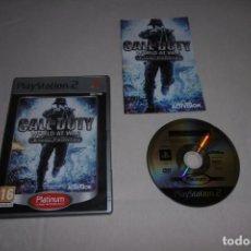 Videojuegos y Consolas: PS2 SONY PLAYSTATION 2 CALL OD DUTY WORLD AT WAR FINAL FRONTS. Lote 269463428
