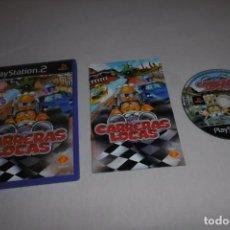 Videojuegos y Consolas: PS2 SONY PLAYSTATION 2 CARRERAS LOCAS COMPLETO. PARA BUZZ!. Lote 269465838
