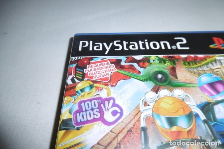 Videojuegos y Consolas: PS2 Sony PlayStation 2 Carreras Locas COMPLETO. Para Buzz! - Foto 2 - 269465838