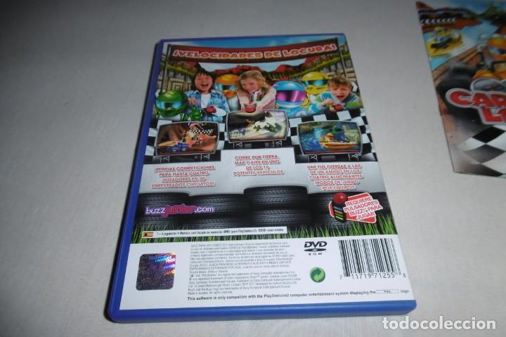 Videojuegos y Consolas: PS2 Sony PlayStation 2 Carreras Locas COMPLETO. Para Buzz! - Foto 3 - 269465838