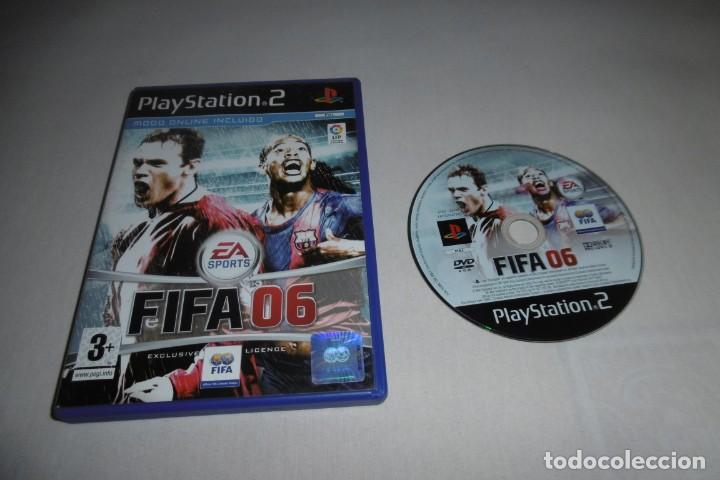 PS2 SONY PLAYSTATION 2 FIFA 06. COMPLETO (Juguetes - Videojuegos y Consolas - Sony - PS2)