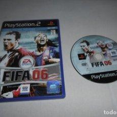 Videojuegos y Consolas: PS2 SONY PLAYSTATION 2 FIFA 06. COMPLETO. Lote 269466423