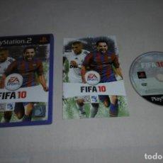 Videojuegos y Consolas: PS2 SONY PLAYSTATION 2 FIFA 10 COMPLETO. Lote 269467348