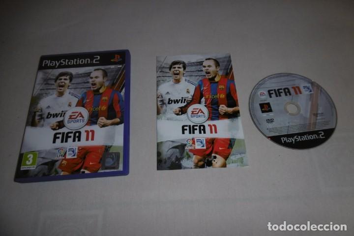 PS2 SONY PLAYSTATION 2 FIFA 11 COMPLETO (Juguetes - Videojuegos y Consolas - Sony - PS2)